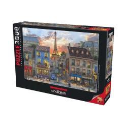 Anatolian Paris Sokakları 3000 Parça Puzzle No. 4910