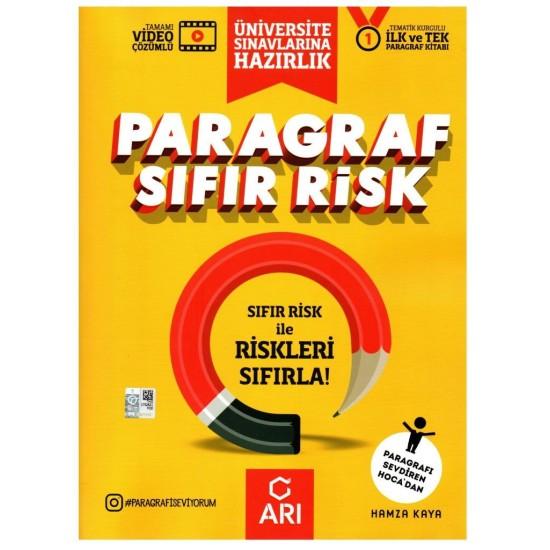 Arı Yayınları Üniversite Sınavına Hazırlık Paragraf Sıfır Risk