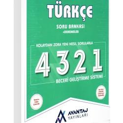 Avantaj 8. Sınıf LGS Türkçe Soru Bankası + Denemeler