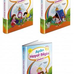 Aydın 2. Sınıf Matematik Türkçe Hayat Bilgisi Seti 3 Kitap