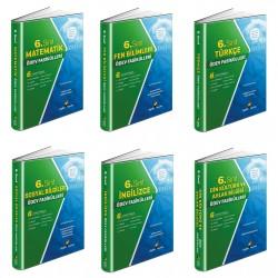 Aydın 6. Sınıf Tüm Dersler Ödev Fasikülleri Seti 6 Kitap