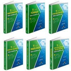 Aydın 7. Sınıf Tüm Dersler Ödev Fasikülleri Seti 6 Kitap