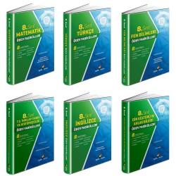 Aydın 8. Sınıf Tüm Dersler Ödev Fasikülleri Seti 6 Kitap