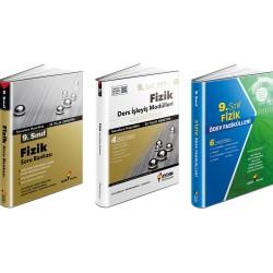 Aydın 9. Sınıf Fizik Soru Bankası+Ödev Fasikülleri+Ders İşleyiş Set 3 Kitap