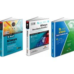 Aydın 9. Sınıf Kimya Soru Bankası+Ödev Fasikülleri+Ders İşleyiş Set 3 Kitap