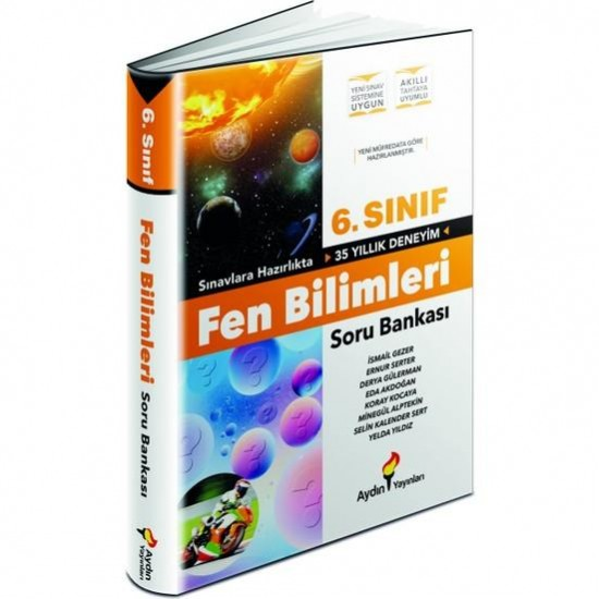 Aydın Yayınları 6. Sınıf Fen Bilimleri Soru Bankası