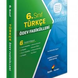 Aydın Yayınları 6. Sınıf Türkçe Ödev Fasikülleri