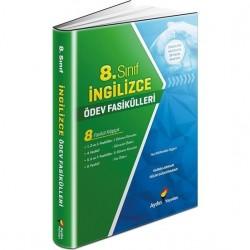 Aydın Yayınları 8. Sınıf İngilizce Ödev Fasikülleri