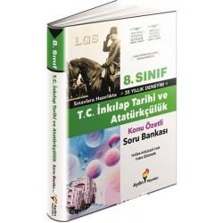 Aydın Yayınları 8. Sınıf İnkılap Tarihi Soru Bankası