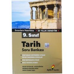 Aydın Yayınları 9. Sınıf Tarih Soru Bankası