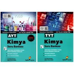 Aydın Yayınları TYT + AYT Kimya Süper Soru Bankası Seti 2 Kitap
