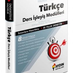 Aydın Yayınları TYT-AYT Türkçe Ders İşleyiş Modülleri