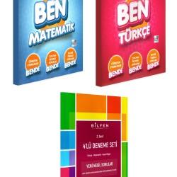 Bilfen 2. Sınıf BEN Matematik Türkçe Etkin Nesil + Deneme Seti 3 Kitap