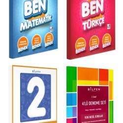 Bilfen 2. Sınıf BEN Matematik Türkçe Etkin Nesil + Tüm Dersler + Deneme Seti 4 Kitap