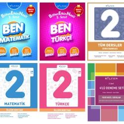 Bilfen 2. Sınıf BEN + Ölçüm Noktası + Tüm Dersler + Deneme Seti 6 Kitap