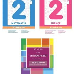 Bilfen 2. Sınıf Matematik Türkçe Ölçüm Noktası + Deneme Seti 3 Kitap