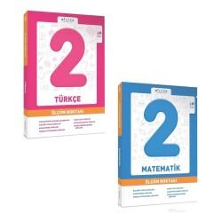 Bilfen 2. Sınıf Matematik + Türkçe Ölçüm Noktası Set 2 Kitap