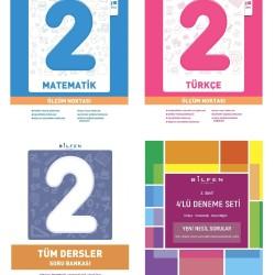 Bilfen 2. Sınıf Tüm Dersler + Ölçüm Noktası + Deneme Seti 4 Kitap