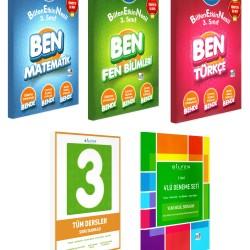 Bilfen 3. Sınıf BEN Matematik Türkçe Fen Etkin Nesil + Tüm Dersler + Deneme Seti 5 Kitap