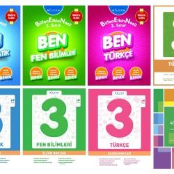 Bilfen 3. Sınıf BEN + Ölçüm Noktası + Tüm Dersler + Deneme Seti 8 Kitap