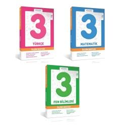 Bilfen 3. Sınıf Matematik + Türkçe + Fen Ölçüm Noktası Set