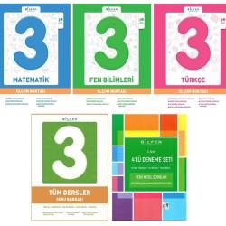 Bilfen 3. Sınıf Tüm Dersler + Ölçüm Noktası + Deneme Seti 5 Kitap