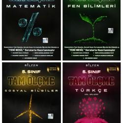 Bilfen 5. Sınıf Matematik Fen Türkçe Sosyal Tam Ölçme Seti 4 Kitap