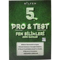 BİLFEN 5. SINIF PRO & TEST FEN BİLİMLERİ SORU BANKASI 2020