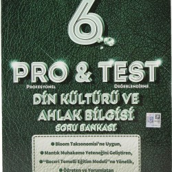 Bilfen 6. Sınıf Pro & Test Din Kültürü Ve Ahlak Bilgisi Soru Bankası