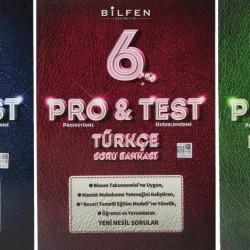 Bilfen 6. Sınıf Pro & Test Matematik Türkçe Fen Soru Bankası Seti