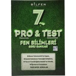 BİLFEN 7. SINIF PRO & TEST FEN BİLİMLERİ SORU BANKASI 2020