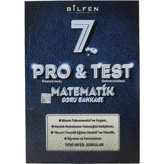 Bilfen 7. Sınıf Pro & Test Matematik Soru Bankası