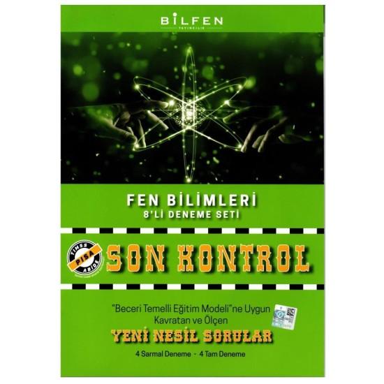 Bilfen 8. Sınıf Son Kontrol 8li Deneme Seti 6 Kitap