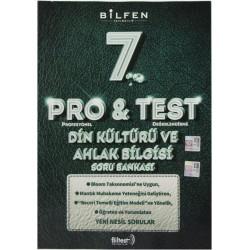 Bilfen 7. Sınıf Pro & Test Din Kültürü Ve Ahlak Bilgisi Soru Bankası