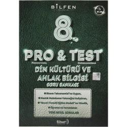 Bilfen 8. Sınıf LGS Pro & Test Din Kültürü Ve Ahlak Bilgisi Soru Bankası