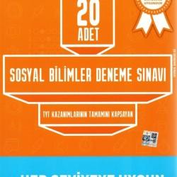Bilfen Yayınları TYT Sosyal Bilimler Deneme Sınavı 20 Adet