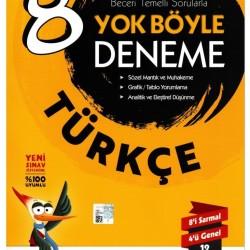 Çalışkan Yayınları 8. Sınıf Türkçe Yok Böyle Deneme