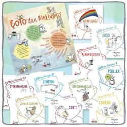 1. ve 2. Sınıf Hikaye Kitabı 10 Kitap Çocuk ÇoTo'dan Mektuplar KVA Çocuk