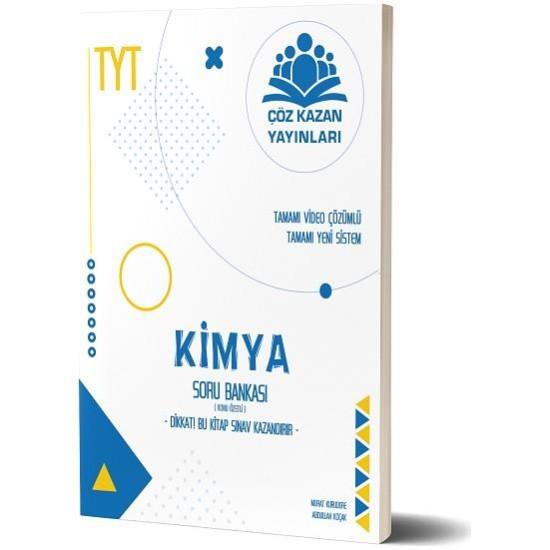 Çöz Kazan Yayınları TYT Kimya Konu Özetli Soru Bankası