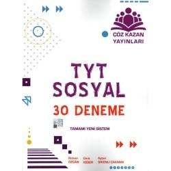 Çöz Kazan Yayınları TYT Sosyal Bilimler 30 Adet Deneme