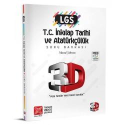 Çözüm 3D Yayınları LGS İnkılap Tarihi Soru Bankası