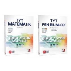 Çözüm TYT 3D Matematik Fen Bilimleri Simülasyon Deneme Seti 2 Kitap