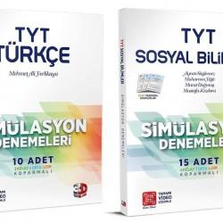Çözüm TYT 3D Türkçe Sosyal Bilimler Simülasyon Deneme Seti 2 Kitap