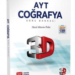 Çözüm Yayınları AYT 3D Coğrafya Soru Bankası