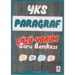 Delta Kültür Yayınları YKS Paragraf Çözü Yorum Soru Bankası