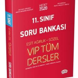 Editör Yayınları 11. Sınıf Eşit Ağırlık- Sözel Tüm Dersler Soru Bankası