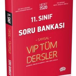 Editör Yayınları 11. Sınıf Sayısal Tüm Dersler Soru Bankası
