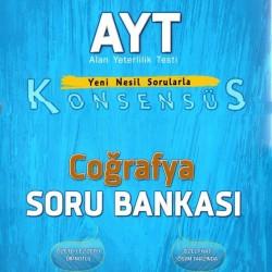 Editör Yayınları AYT Coğrafya Konsensüs Soru Bankası