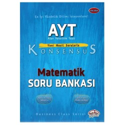 Editör Yayınları AYT Matematik Konsensüs Soru Bankası