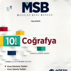 Eğitim Vadisi 10. Sınıf Coğrafya Modüler Soru Bankası